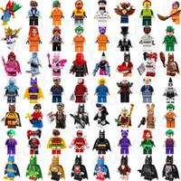 Wholesale Spiderman Toy Building - Wholesale Minifig Super Heroes Avengers Spiderman Space Wars Harry Potter Hobbit Figure Super Hero Mini Building Blocks Figures Toys
