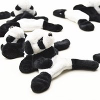 nevera pequeña nevera al por mayor-Imanes de Nevera Nueva Plush Panda Originalidad Etiqueta Engomada Magnética Característica Turismo Recuerdo Imán de Nevera Pequeño Regalo de Dibujos Animados 3 3zj V