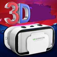 Wholesale Vr Reality - New fantasy VR glasses vrbox virtual reality 5 generation mobile phone 3D eye lens wear custom LOGO manufacturer