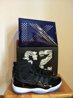 Wholesale Blue Star Silk - Bred 11s concord space jam win like 82 96 basketball shoes with box wholesale 11s sneaker shoes