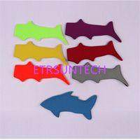 100pcs lot Fast Shipping New Arrival Shark & Lobster Style popsicle holder neoprene Ice Pop Sleeves Freezer For kids gift