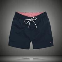 nouveaux pantalons pour hommes achat en gros de-New Board Shorts Hommes Summer Beach Shorts Pantalons Maillots de bain de haute qualité Bermuda Male Lettre Surf Life Hommes Nager