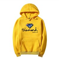 Wholesale Diamond Star Neck - new design autumn winter fashion kanye west Harajuku Star Diamond hoodies skateboard hip hop Lovers clothing 03