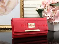 Wholesale Check Cell Phone - 2018 fashion women MICHAEL KALLY wallet famous brand luxury Designer hasp wallets female pu leather purse long plaid wallets