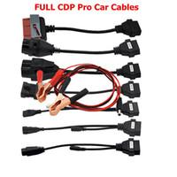 cabos de diagnóstico nissan venda por atacado-Carro Adaptar Auto Diagnostic Cable 8 pcs Para TCS CDP Ferramenta de Diagnóstico Do Carro Leitor de Código de Falha do Scanner