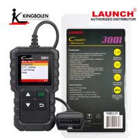 araba kodu obd toptan satış-Luanch Creader 3001 OBD2 Tarayıcı OBD2 Arıza Kodu Okuyucu Tarayıcı OBD II Araba Motoru Teşhis Aracı Başlat Kod Creader