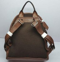 mochila de couro clássica venda por atacado-Venda quente sacos de Moda Clássico das mulheres dos homens PU Estilo Mochila De Couro Sacos de Duffel Sacos Unisex Bolsas de Ombro