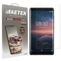 Wholesale microsoft screens - 2.5D 0.26mm Tempered Glass Flim Screen Protector Guard for Microsoft Nokia 8 7 6 Plus Lumia 950X 950 650 640XL 640 635 435 Packging Aicoo