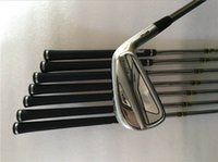 Wholesale Forged Iron Sets - Brand New Golf Clubs AP2 718 Iron Set AP2 718 Golf Forged Irons #3456789P Steel Shaft Regular&Stiff Flex With Head Cover