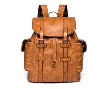 ingrosso male fashion backpacks-2 colori caldi nuove donne maschili borsa da trekking Borse da scuola in pelle pu Stilisti di moda zaino donna borse da viaggio zaini borsa per laptop 40 cm