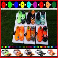 элитная коробка оптовых-С Box Bag 2020 Новые мужские бутсы Superfly VI 360 Elite Ronaldo FG CR7 футбольные бутсы Chaussures бутсы высокие лодыжки
