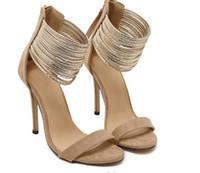 sandalias bajas sexy al por mayor-sandalias de las mujeres delgados tacones altos punta abierta partido sexy primavera verano zapatos de mujer mujer de tacón alto Ayuda baja de punta abierta