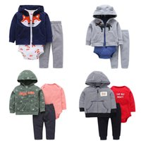 f8ba8dc3b carter baby clothes Australia - FREE SHIPPING Carter s Baby Boy 3 Pieces Set  Long Sleeve
