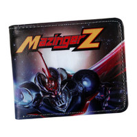 Wholesale z wallet for sale - Group buy new arrival anime wallet Mazinger Z wallet for