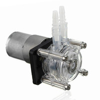 solar water pump high pressure wholesale-High Flow DC12V Peristaltic Pump Mini Water Pump Free Shipping