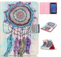 Wholesale Leather Case For Kindle Fire - Bear Dreamcatcher Owl Dandelion Universal 7 inch 8inch Tablet Case Wallet Flip Stand Protective Cover for Samsung Apple Asus Lenovo Tablet P