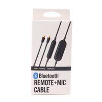 Wholesale headphones cable mic online – Bluetooth Remote Mic Cable RMCE BT1 for In Ear headphones SE215 SE315 SE425 SE535 SE846 Control Cables to be Sport Earphones Black