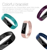 Wholesale female model hands - Explosion models ID115 smart Bluetooth hand bad information push caller ID smart wear smart watch ring