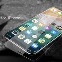 display handy iphone großhandel-Handy-Display-Schutzfolien für Apple X iPhone7Plus iPhoneX Handy-Film 6S Schutzfolie Glasfolie Großhandel
