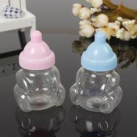 baby flasche taufe bevorzugt großhandel-Babyparty-Geschenk-Flaschen-Kasten-Taufe Brithday-Gastgeschenke Geschenk-Bevorzugungen Süßigkeit-Kasten-Flaschen-Jungen-Mädchen jc-104