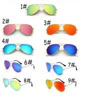 rosengläser großhandel-sommer mann mode RADFAHREN sonnenbrille frau rose pink strand sonnenbrille draußen fahren sonnenbrille SPORT sun GLASSES metall glaslinse