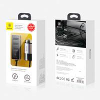 bons chargeurs portables achat en gros de-2018 nouveau Baseus Fast Car Phone Charger 4 port USB chargeur de téléphone portable 5V 5.5A voiture chargeur USB bon article