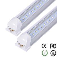4ft 28w leuchtstoffröhre großhandel-V-förmige LED-Leuchtröhre 4 Fuß 5 Fuß 6 Fuß SMD2835 Ersatz-Leuchtstoffröhre Hochhell Warm / Natürlich / Kaltweiß CE RoHS-geprüft