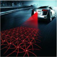 ingrosso luce anti collisione principale-Universale LED auto moto luce antinebbia laser anti collisione lampada di coda auto moto frenata segnale di parcheggio lampade di avvertimento car styling