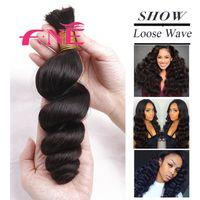 Wholesale Machine Attachments - Brazilian Peruvian Chinese Malaysian Virgin Hair Weave Loose Wave Unprocessed Virgin Remy Human Hair Wholesale Best Quality Bulk Hair Weaves