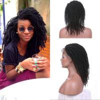 en iyi kinky peruk toptan satış-En Çok Satan Ürünleri 130% Afro Kinky Kıvırcık Dantel Ön Peruk 10-24 inç Ücretsiz Orta Kısmı 100% Doğal Manikür Saç G-EASY