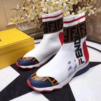 c26aded643ae Wholesale speed motorcycle boots online - Luxury Women s Sock Boots Speed  Trainer Casual Shoes Evening