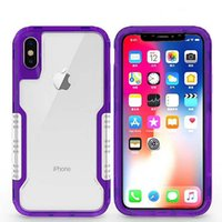 Wholesale heavy duty iphone hybrid for sale – best For iphone xr xs max Mobile Phone Cases For Samsung Galaxy s9 case in1 Hybrid Armor case Clear Heavy Duty Shockproof Phone Cover