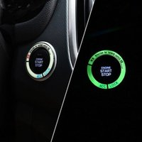 Wholesale engine ring for sale - Group buy 3D Lumiuous Car Engine Start Stop Ignition Key Ring for Chevrolet Volt EPICA Malibu Camaro Cobalt Orlando Spark Interior Diameter cm