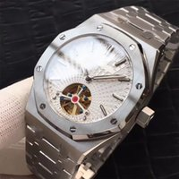 Wholesale a2 stainless steel for sale - Luxury brand famous men watch silver L stainless steel bracelet mechanical automatic movement watches aaa geneva mens wrist watches A2