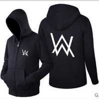 Wholesale Types Jacket Women - 2018 new autumn and winter seasonal clothing Alan Walker and the same type of Faded electric sound jacket men and women