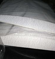 Wholesale zebra nails online - 150 Zebra Moon Cushion Nail File Nail Art Board File Sanding Files Manicure Pedicure NFE