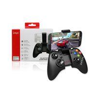 playstation vita joystick al por mayor-IPEGA PG-9021 Classic Wireless Bluetooth V3.0 Gamepad Controlador de juegos Gamepad Joystick para Android / iOS Juegos de PC