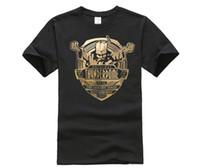 Wholesale purple wizard - Thunderdome Tee Shirt For Men Digital Direct Printing Custom Short Sleeve Team Hardcore Techno and Gabber Wizard Camiseta