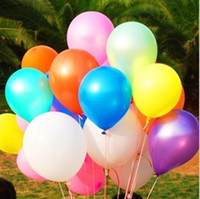 Wholesale pvc advertising - 10'' Pure Balloons inflatable Ballons party Decorations novelty Palloncini Fidget Wedding Xmas baby shower decorations Christmas Gift purple