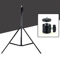 Wholesale 2 m lamp holder mobile phone live holder tripod camera holder