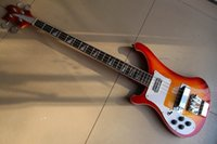 Wholesale left hand basses resale online - Best Quality Left Handed string electric bass guitar in Cherry