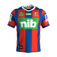 Wholesale Wine Transfer - 2018 NRL JERSEYS Australia NEWCASTLE KNIGHTS Rugby NRL National Rugby Newcastle Knights jersey High-temperature heat transfer printing