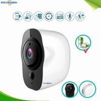 dış mekan hd kameralar toptan satış-Telsiz Açık Güvenlik IP Kamera 1080 P HD Kablosuz WIFI Kamera Akülü Gözetim Su Geçirmez IP65 Iki Yönlü Ses