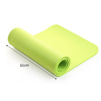 Wholesale folding gym mats - 4 Colors Yoga Mat Exercise Pad Thick Non-slip Folding Gym Fitness Mat Pilates Supplies Non-skid Floor Play