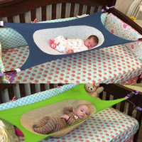 Wholesale portable folding camp beds online - Folding Baby Portable Hammock EDC Convenient For Portable Disassemble Household Hammocks Newborn Babies Sleep Bed Hot Sale gm X