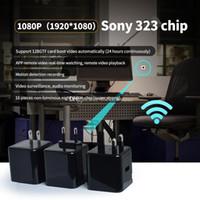 bewegungserkennung usb-ladegerät kamera großhandel-Drahtlose Mini-Ladekamera mit Full HD-Aufladung und 128 GB WIFI-USB-Ladekopf-Wandkamera mit Bewegungserkennung