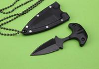 messer extrema-verhältnis großhandel-Sonderangebot Mini Taktische Neck Knife Fixed Blade Outdoor Camping Extrema Ratio Survival selbstverteidigung Tragbare schlüssel 1 stücke