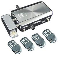 système d'ouverture de porte achat en gros de-IntelliSense Télécommande Ensemble serrure électronique de sécurité Cadenas verrouillage automatique des ménages conjurons verrouillage