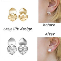 Wholesale earring posts wholesale - New Fashion Magic Bax Earring Backs Support Earring Lifts Fits All Post Earrings free shipping