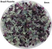 Wholesale teardrop amethyst resale online - 200g mm Natural Brazil Fluorite Amethyst Purple Stone Crystals Chips Quartz Aquarium C09
